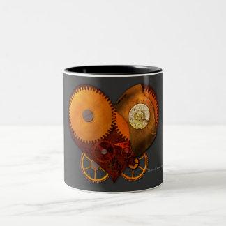 SteamPoly Mug - Clockwork Heart