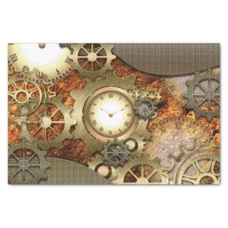 """Steampunk 10"""" X 15"""" Tissue Paper"""