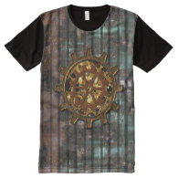 Steampunk 11 Options All-Over Print T-shirt