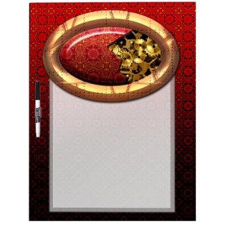 Steampunk 12A Dry-Erase Board Options