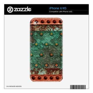 Steampunk 1 Phone Skin Decal For The iPhone 4