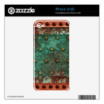 Steampunk 1 piel del teléfono iPhone 4S skins