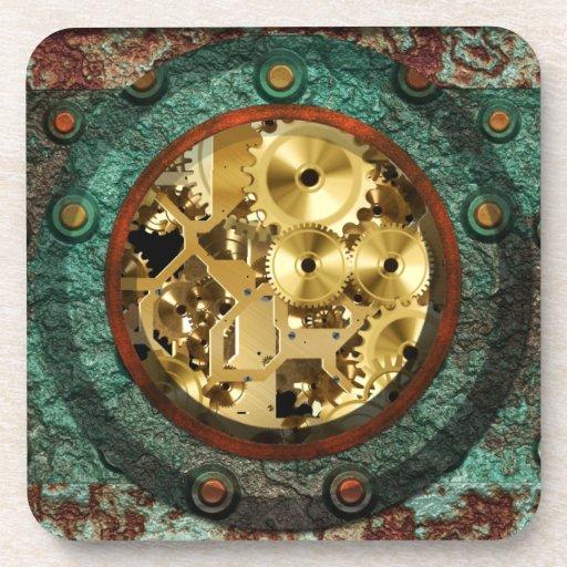 Steampunk 1B Coaster