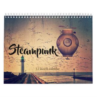 Steampunk 2019 Fantasy Calendar