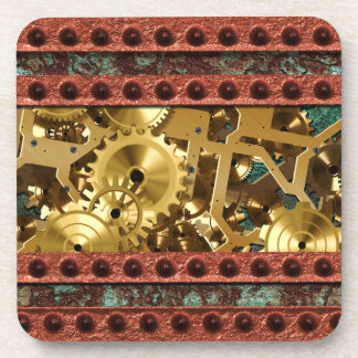 Steampunk 4 Coaster