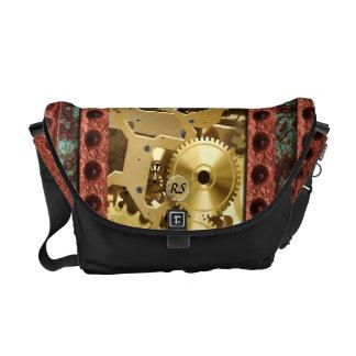 Steampunk 4 Messenger Bag