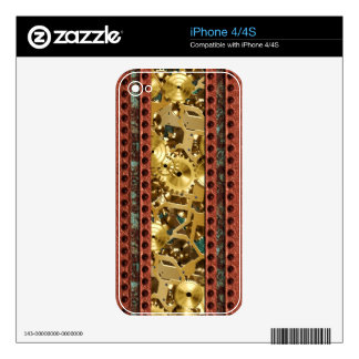 Steampunk 4 Phone Skin iPhone 4 Skins