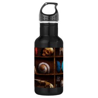 Steampunk - A box of curiosities 18oz Water Bottle