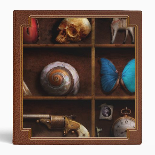 Steampunk - A box of curiosities Binders