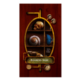 Steampunk - A box of curiosities Business Card