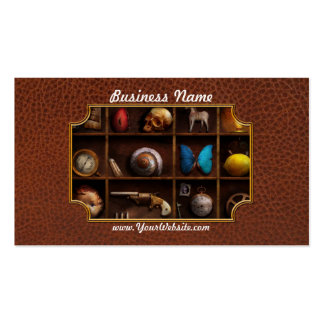 Steampunk - A box of curiosities Double-Sided Standard Business Cards (Pack Of 100)