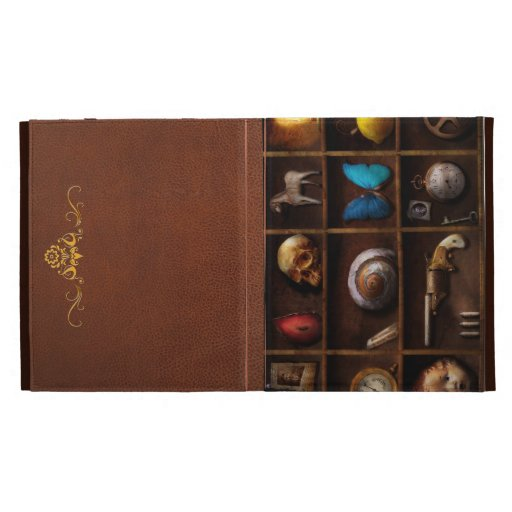 Steampunk - A box of curiosities iPad Cases