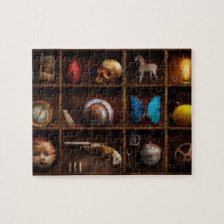 Steampunk - A box of curiosities Jigsaw Puzzle