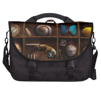 Steampunk - A box of curiosities Laptop Bags