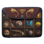 Steampunk - A box of curiosities Sleeves For MacBooks