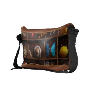 Steampunk - A box of curiosities Messenger Bags