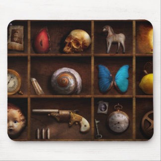 Steampunk - A box of curiosities Mousepad