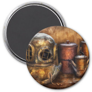 Steampunk - A collection from my Journeys 3 Inch Round Magnet