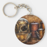 Steampunk - A collection from my Journeys Basic Round Button Keychain