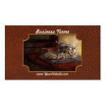 Steampunk - A crusty old typewriter Business Card Template