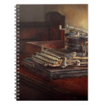 Steampunk - A crusty old typewriter Notebooks