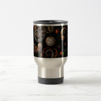 Steampunk - Abstract - The beginning and end Travel Mug