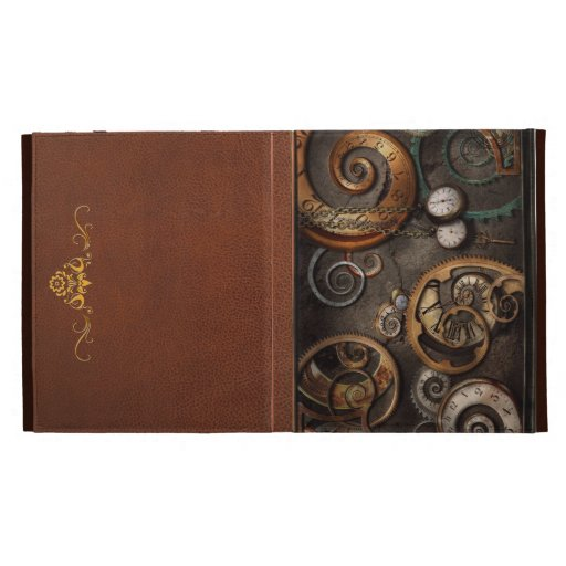 Steampunk - Abstract - Time is complicated iPad Case