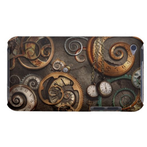 Steampunk - Abstract - Time is complicated iPod Case-Mate Cases