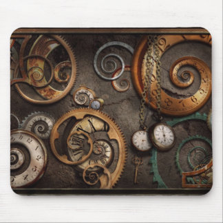 Steampunk - Abstract - Time is complicated Mouse Pad