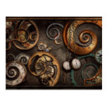 Steampunk - Abstract - Time is complicated Postcards