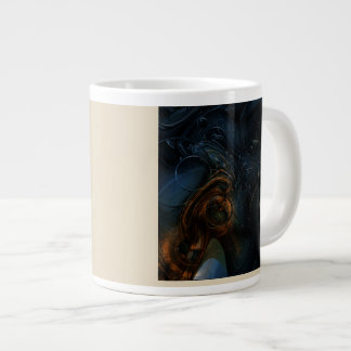 Steampunk. Abstraction Giant Coffee Mug