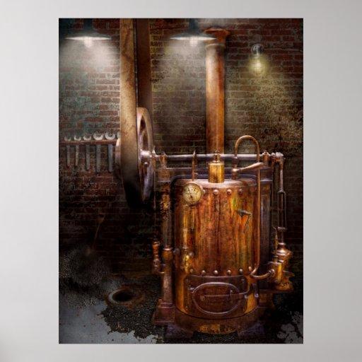 Steampunk - accionar el hogar moderno impresiones