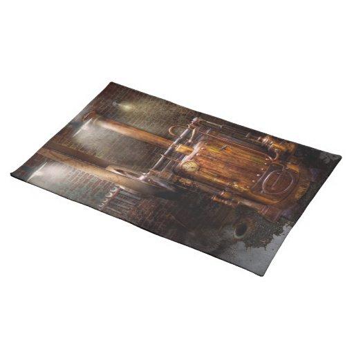 Steampunk - accionar el hogar moderno mantel