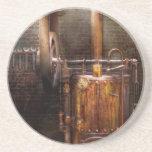 Steampunk - accionar el hogar moderno posavasos cerveza