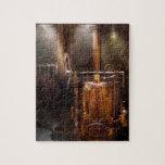 Steampunk - accionar el hogar moderno puzzle con fotos