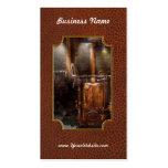 Steampunk - accionar el hogar moderno plantilla de tarjeta de visita