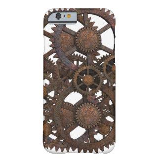 Steampunk adapta la caja del teléfono funda barely there iPhone 6