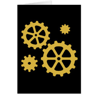 Steampunk adapta la tarjeta de felicitación