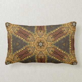 Steampunk adornado almohada