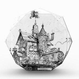 Steampunk Aerial House By Albert Robida Awards