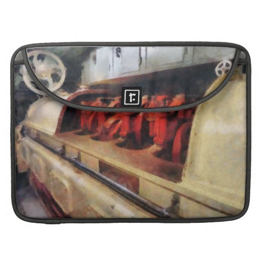 Steampunk - After Engine Room in Submarine Sleeve For MacBook Pro