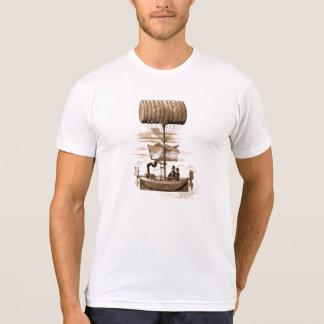 Steampunk Airboat Machine T Shirt