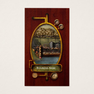 Steampunk - Airship - The original Noah's Ark Business Card
