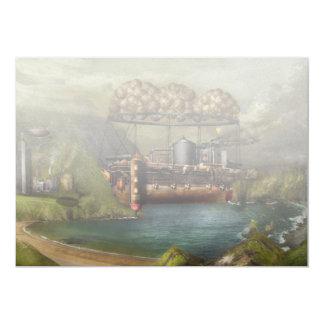 Steampunk - Airship - The original Noah's Ark Card