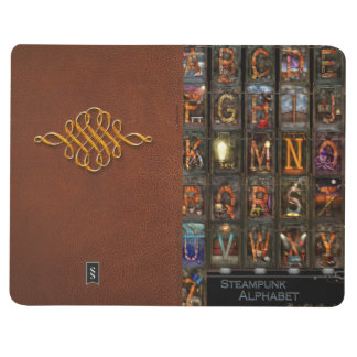 Steampunk - alfabeto - alfabeto completo cuaderno