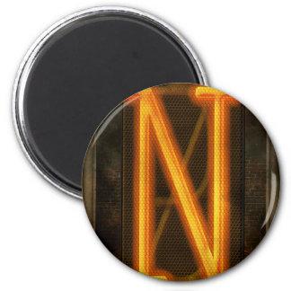 Steampunk - alfabeto - N está para Nixie Iman De Nevera
