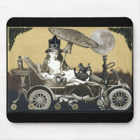 Steampunk Alice Mouse Pad