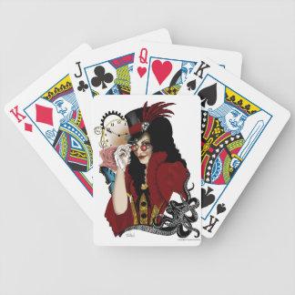 Steampunk all in Red Card Decks