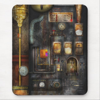 Steampunk - All that for a cup of coffee Mouse Pad