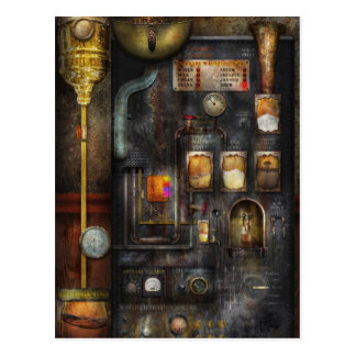 Steampunk - All that for a cup of coffee Postcard